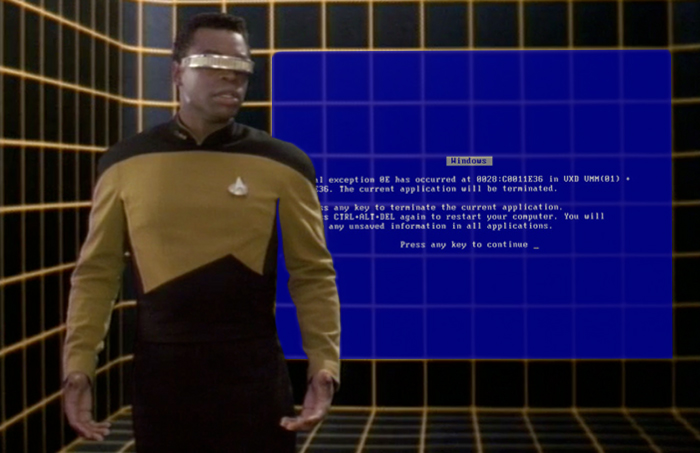 Faked images Bsod-holodeck