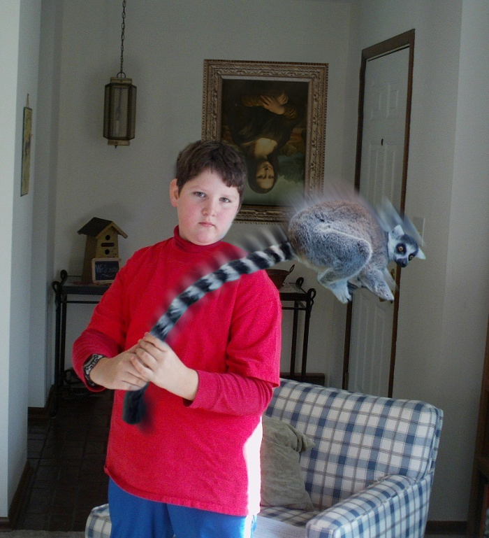 Faked images - Page 2 Ryan-brother-lemur