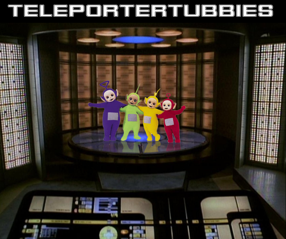 Faked images - Page 3 Teleportertubbies